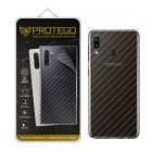 Back Protector Samsung Galaxy A30 Protego - Carbon Clear