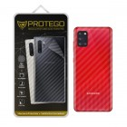 Back Protector Samsung Galaxy A31 Protego - Carbon Clear