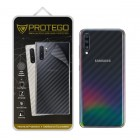 Back Protector Samsung Galaxy A70 Protego - Carbon Clear