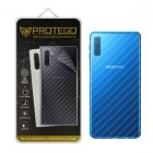 Back Protector Samsung Galaxy A7 (2018) Protego - Carbon Clear