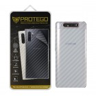 Back Protector Samsung Galaxy A80 Protego - Carbon Clear