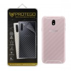 Back Protector Samsung Galaxy J7 Pro Protego - Carbon Clear