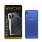 Back Protector Samsung Galaxy M10 Protego - Carbon Clear