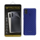 Back Protector Samsung Galaxy M21 Protego - Carbon Clear