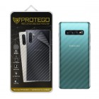 """Back Protector Samsung Galaxy S10+ / S10 Plus (6.4"""") Protego - Carbon Clear"""