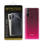 Back Protector Vivo V15 Protego - Carbon Clear
