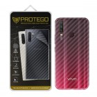 Back Protector Vivo Y12 Protego - Carbon Clear