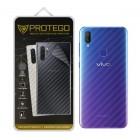 Back Protector Vivo V11 Protego - Carbon Clear