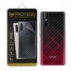 Back Protector Vivo V15 Pro Protego - Carbon Clear