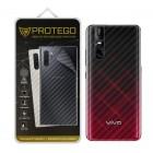 Back Protector Vivo V15 Pro Protego - Carbon Clear