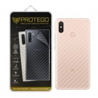 Back Protector Xiaomi Mi Max 3 Protego - Carbon Clear