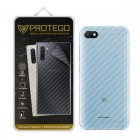 Back Protector Xiaomi Redmi 6A Protego - Carbon Clear