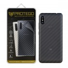 Back Protector Xiaomi Redmi Note 6 Pro Protego - Carbon Clear
