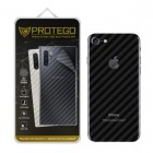 Back Protector iPhone 7 Plus / 8 Plus Protego - Carbon Clear
