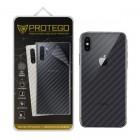 Back Protector iPhone X Protego - Carbon Clear