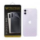 "Back Protector iPhone 11 (6.1"") Protego - Carbon Clear"