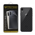 Back Protector iPhone XR Protego - Carbon Clear