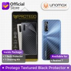 Back Protector Realme 7 Protego - Carbon Clear