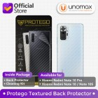 Back Protector Xiaomi Redmi Note 10 Pro Protego - Carbon Clear