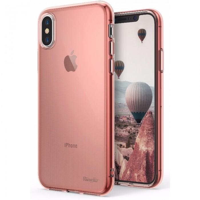 Jual Rearth Iphone X Case Ringke Air Thin Tpu Rose Gold