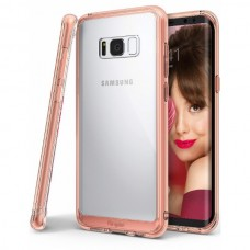 "Jual Rearth Samsung Galaxy S8 (5.8"") Case Ringke Fusion - Rose Gold Indonesia Original Harga Murah"
