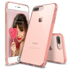 Jual Rearth iPhone 7 Plus / 8 Plus Case Ringke Fusion - Rose Gold Indonesia Original Harga Murah