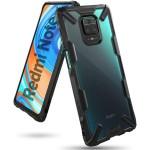 Case Xiaomi Redmi Note 9 Pro Ringke Fusion X - Black