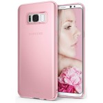 "Rearth Samsung Galaxy S8+ / S8 Plus (6.2"") Case Ringke Slim - Frost Pink"