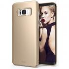 "Rearth Samsung Galaxy S8 (5.8"") Case Ringke Slim - Royal Gold"