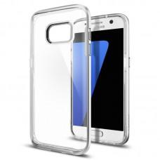 Jual Spigen Samsung Galaxy S7 Case Neo Hybrid Crystal Satin Silver Indonesia Original Harga Murah