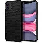 "Case iPhone 11 (6.1"") Spigen Liquid Air - Matte Black"
