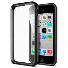 Jual Spigen iPhone SE / 5s / 5 Case Ultra Hybrid Black Indonesia Original Harga Murah