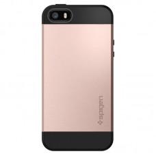 Jual Spigen iPhone SE / 5s / 5 Case Slim Armor Rose Gold Indonesia Original Harga Murah