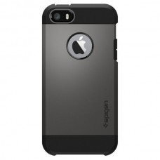 Jual Spigen iPhone SE / 5s / 5 Case Tough Armor Gunmetal Indonesia Original Harga Murah