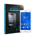 Tyrex Sony Xperia Z3 Compact Tempered Glass Screen Protector (Free Plastic Back Protector)