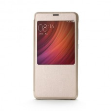 Jual Xiaomi Original Smart Flip Case Cover Xiaomi Redmi Pro - Gold Indonesia Original Harga Murah